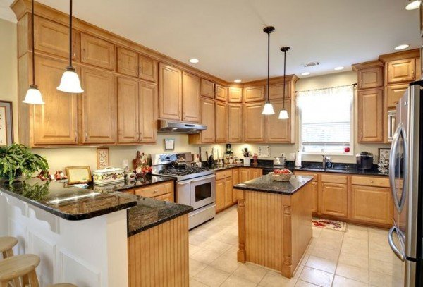 kitchen remodeling wood kitchen cabinets