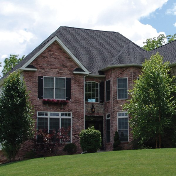 Brick siding installation