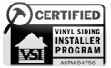 Minnesota accredited vinyl siding installer