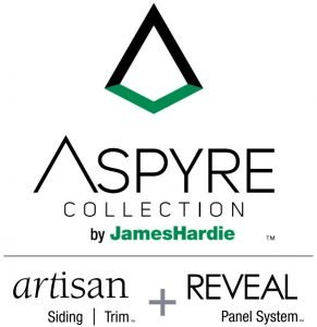 aspyre by James Hardie logo